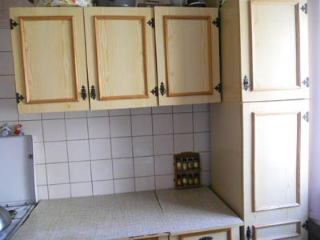 Превращение старой кухни в новую.