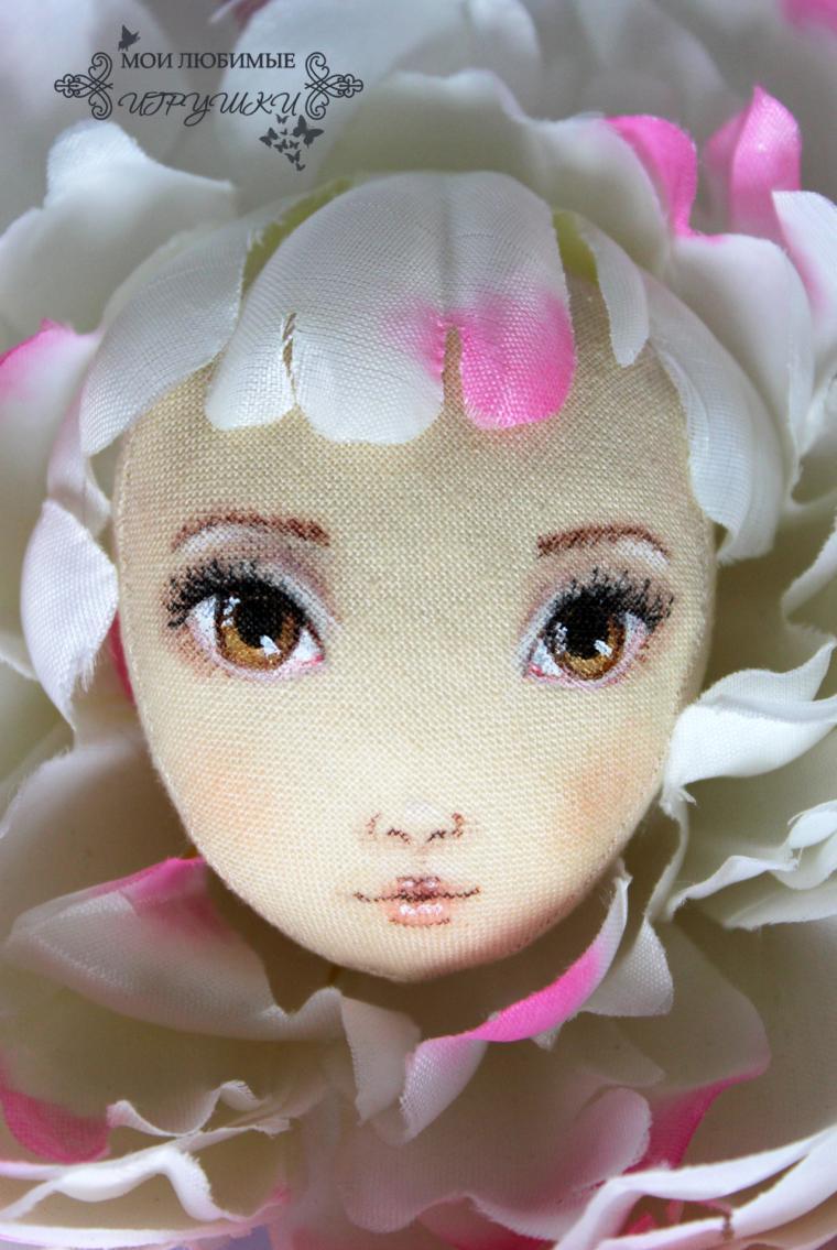 текстильная кукла, рабочий процесс