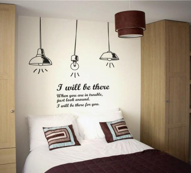 Мысли на виду! (или 60 идей декора стен с помощью слов, букв и цифр), фото № 17