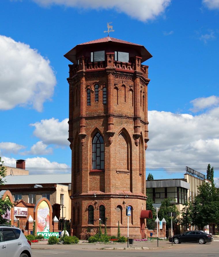 Водонапорная башня в бузулуке описание
