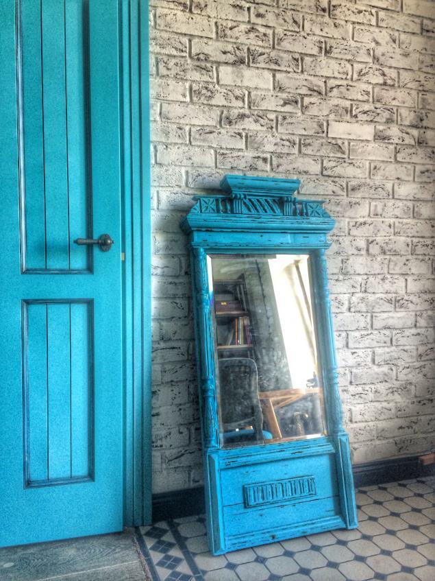 винтажная мебель, стиль бохо, старинная мебель, антикварная мебель, зеркало в деревянной раме