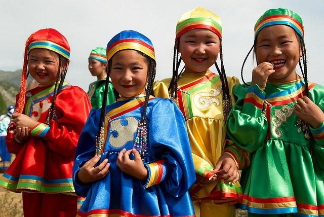 El-Oiyn festival, Altai region, Russia