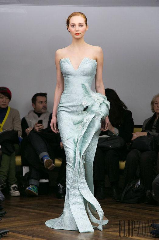 Tony Yaacoub Haute Couture весна-лето 2014, фото № 17
