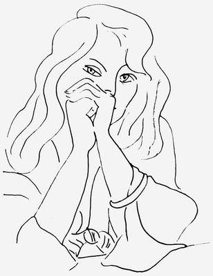 Черно-белая графика знаменитых художников, фото № 25