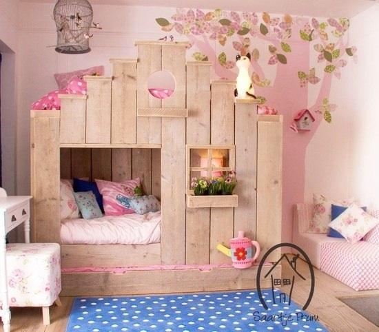 Декор детских кроваток на фото