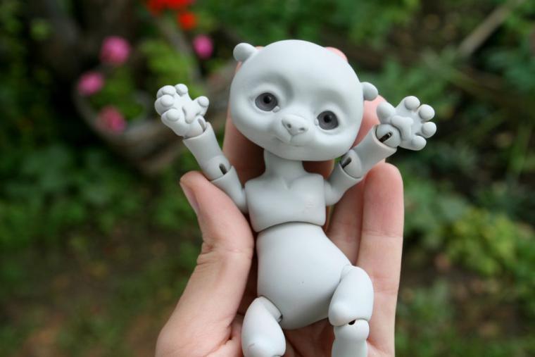 Японская шарнирная кукла мастер класс инструкция #4