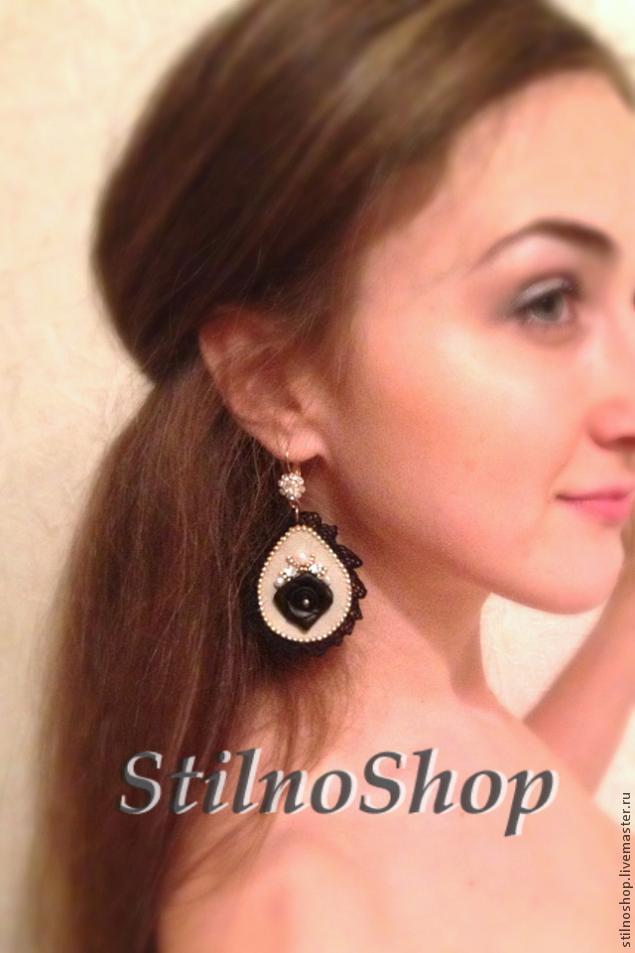 Создаем серьги в стиле Dolce&Gabbana, фото № 14