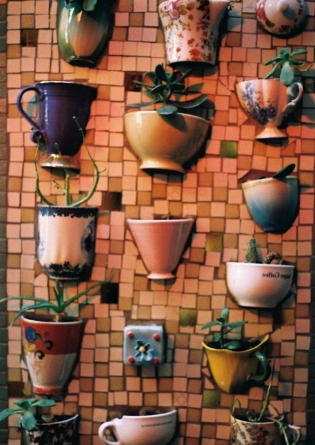 Мозаика из старой плитки своими руками