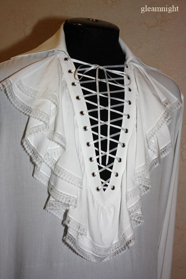 свадебная рубашка, рубашка с жабо, скидка 20%