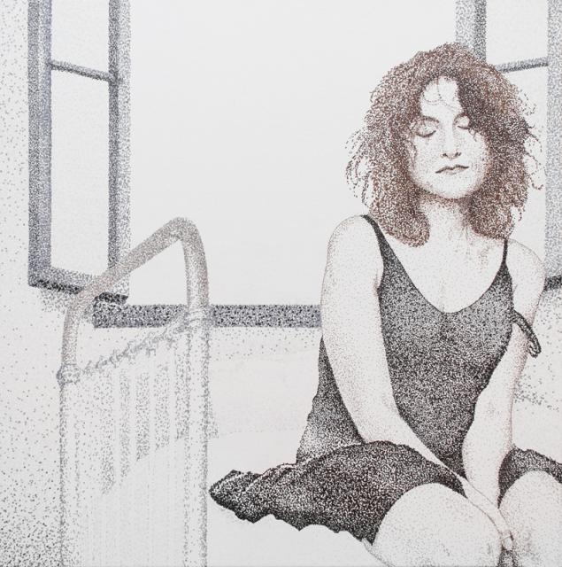 изабель, портрет, женщина