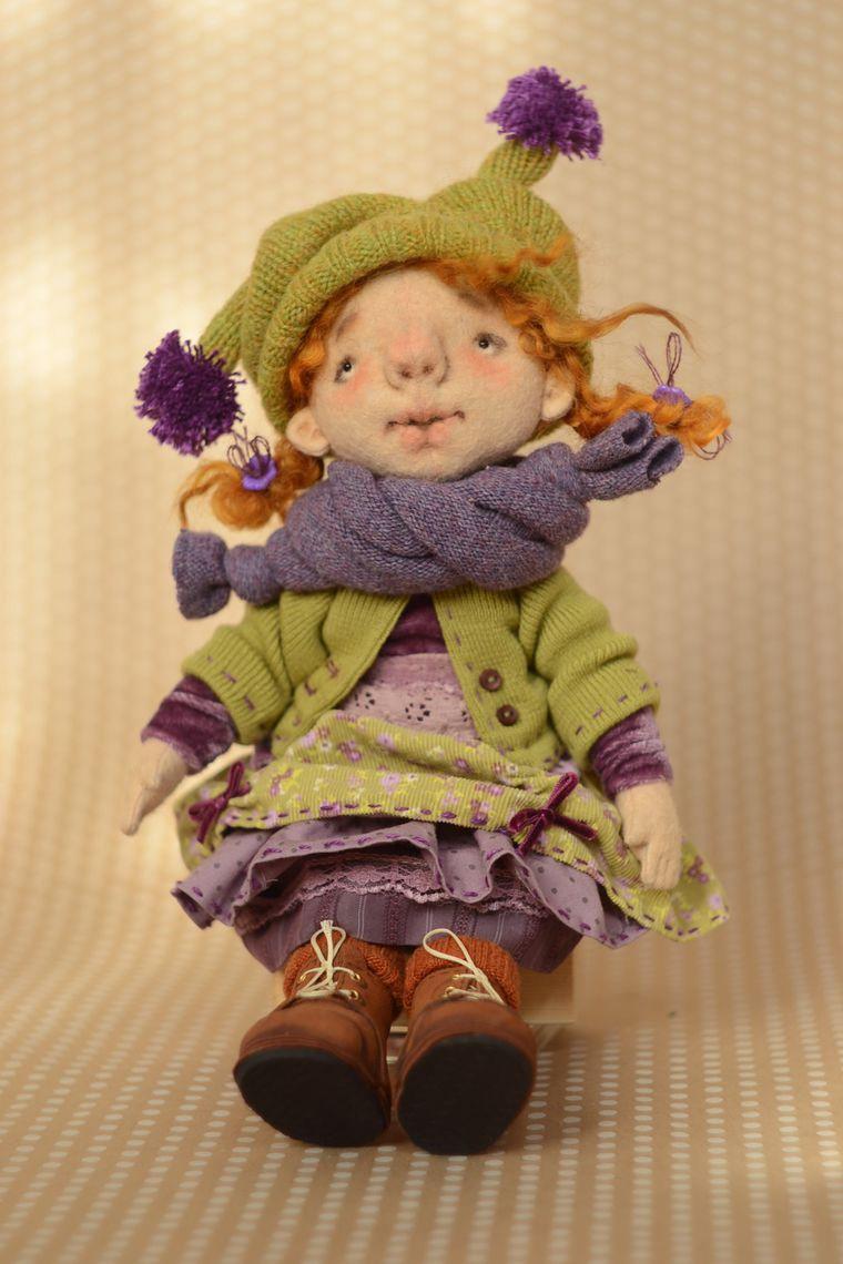 Как сделать куклу из фетра своими руками фото 158