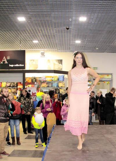 платья, модный показ