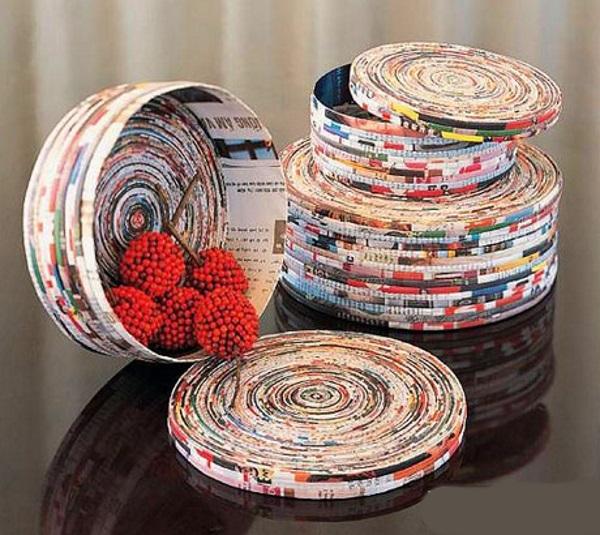 Сайт плетение из газет мастер класс