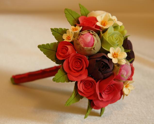 мастер-класс по лепке, школа лепки цветов, школа лепки алены чижовой, цветы ручной работы, скидка 30%