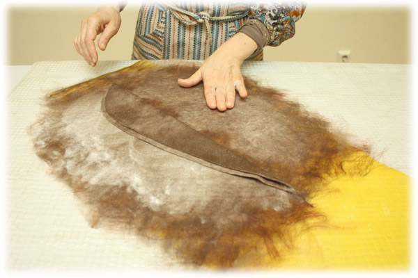 From Simple to Complex: Felting a Jacket with a Yoke, фото № 14
