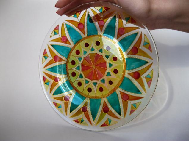мастер класс, роспись стекла, hand-made5