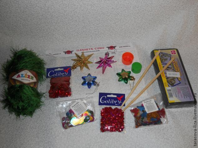 подарки, вязание