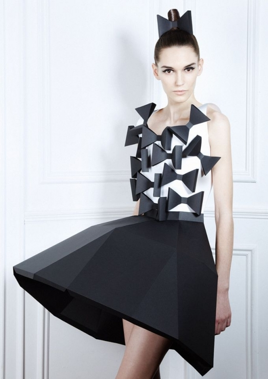 Купить платья из бумаги