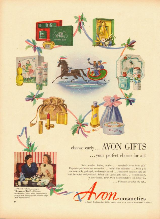 Новогодняя реклама Vintage/1951 -1956 включительно, фото № 16