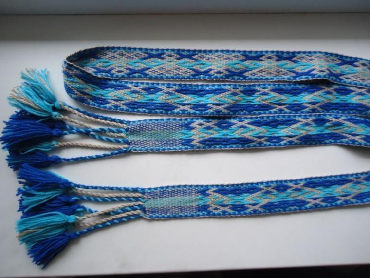 узорное ткачество, перебор 2 к 1