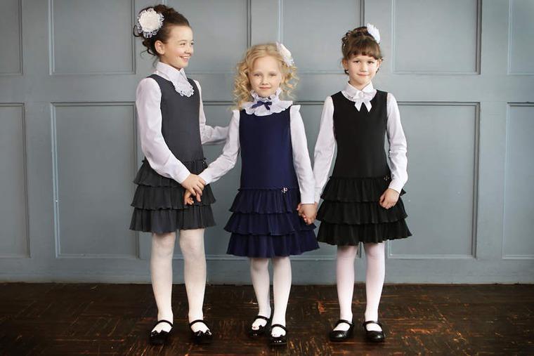 одежда для школы, школьный сарафан, магазин одежды