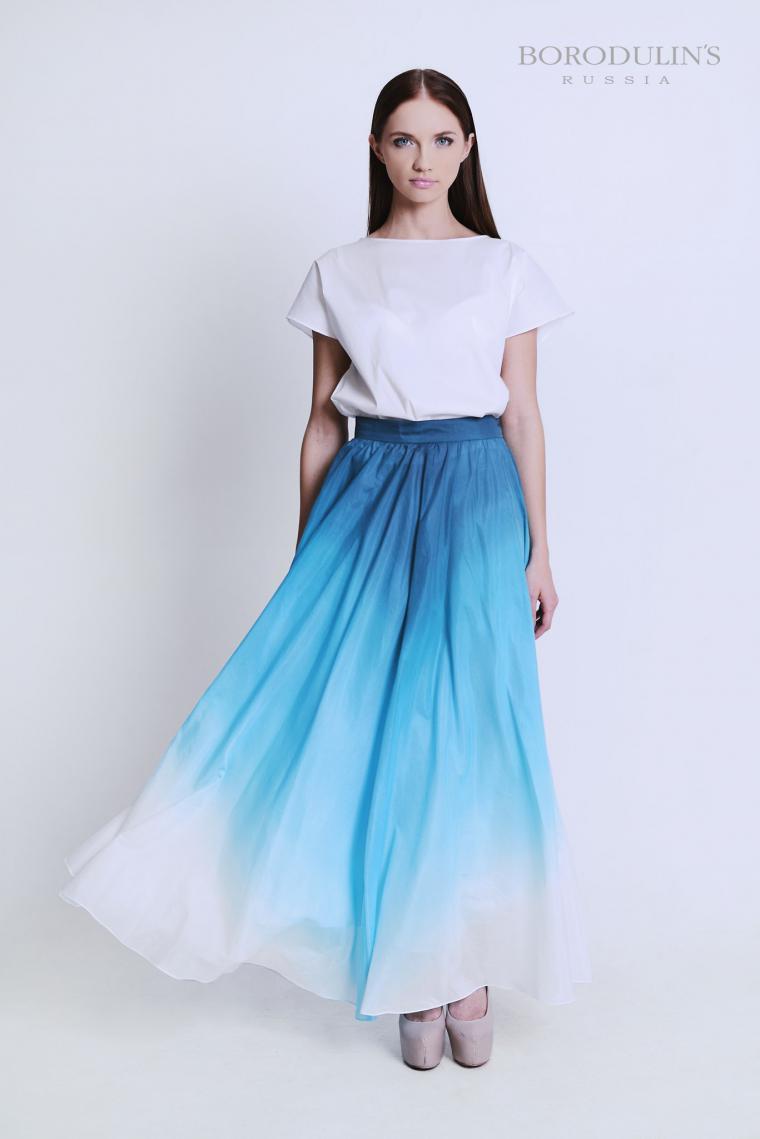дизайнерское платье, бирюзовое платье