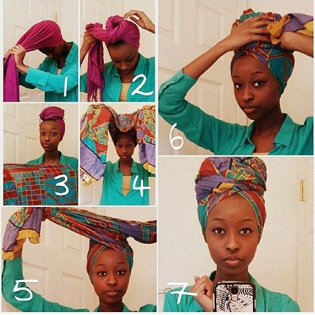 naturalhairdoescare: How to wrap