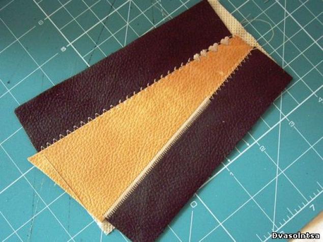 схема как сшить сумку из кожи - Сумки.