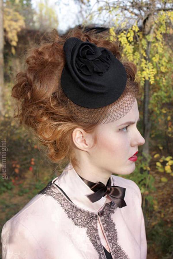 свадебная шляпка
