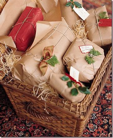 Упаковка для подарков крафт