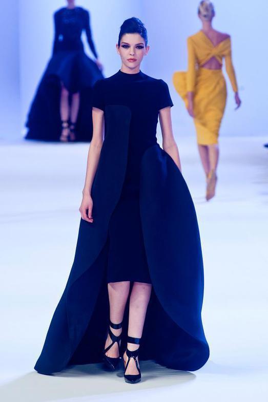 Stephane Rolland Haute Couture весна-лето 2014, фото № 10