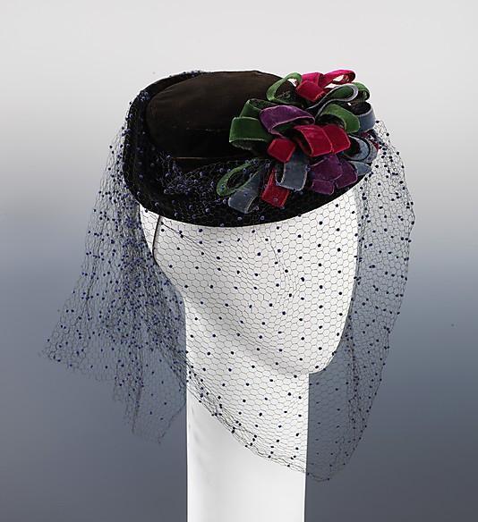 Шляпка в стиле 30-х годов