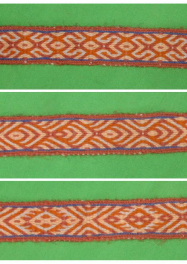 Ткачество сложных узоров на дощечках, фото № 2