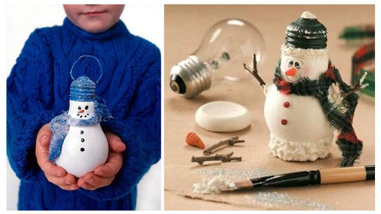 Как сделать своими руками снеговика в домашних условиях 37