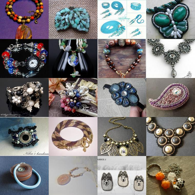 галерея, галерея бижутерии, украшения, украшения ручной работы, бижутерия своими руками, галерея бижутерии февраль