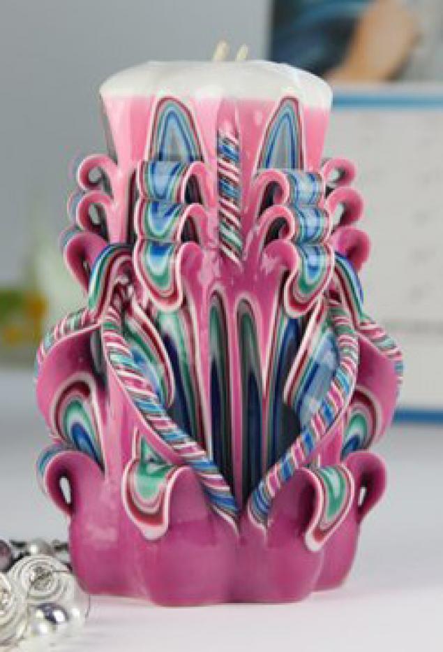 Искусство ручной работы: резные свечи - Ярмарка Мастеров - ручная работа, handmade
