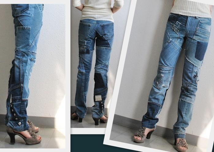 Юбка из джинсов своими рукам