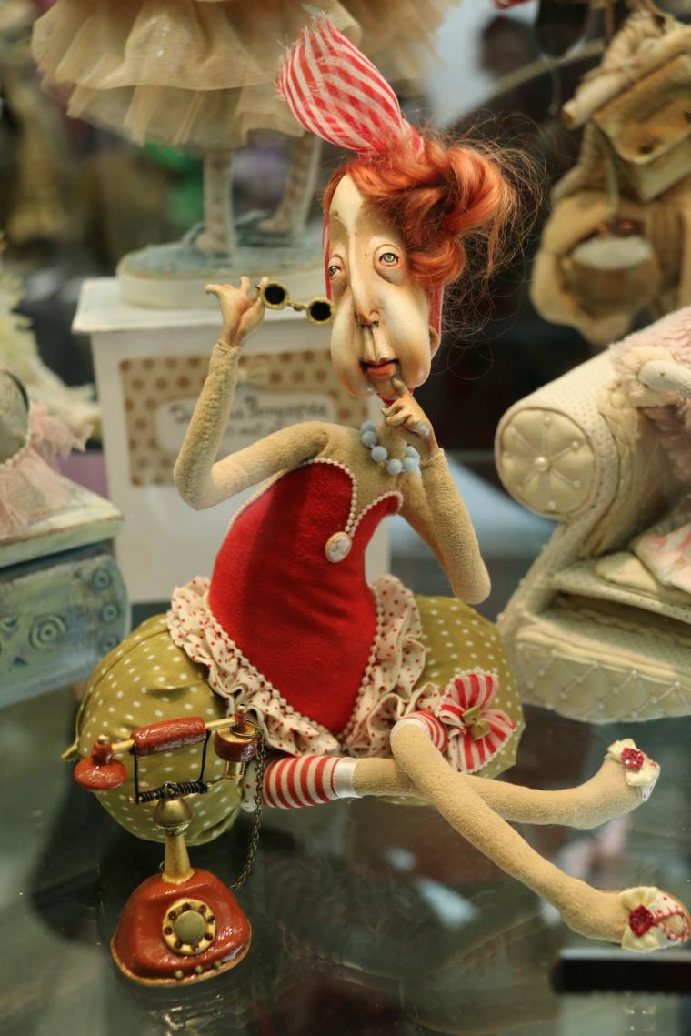 выставка, авторская кукла, кукла своими руками