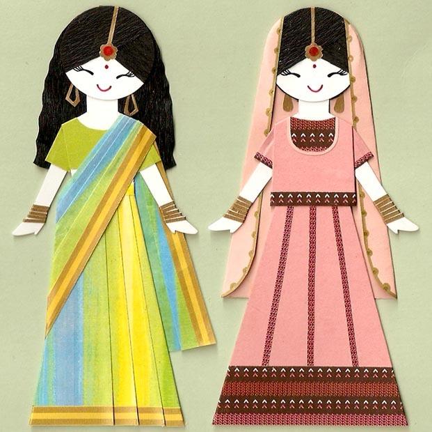 Индийские девушки знакомятся