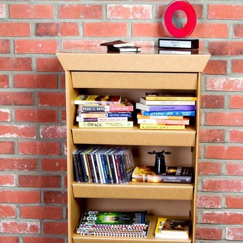 Дизайнерская мебель из картона от SmartDeco