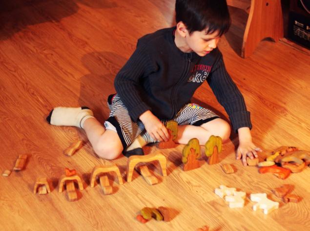 вальдорфская педагогика, игрушки ручной работы
