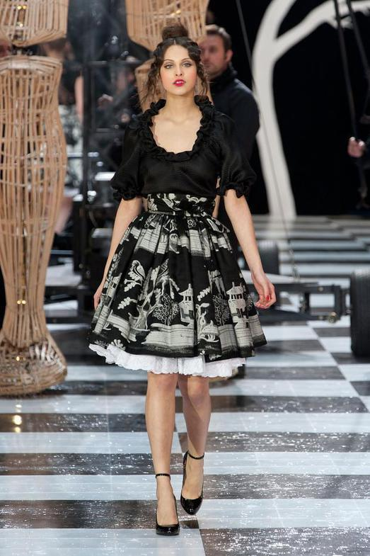 Franck Sorbier Haute Couture весна-лето 2014, фото № 3