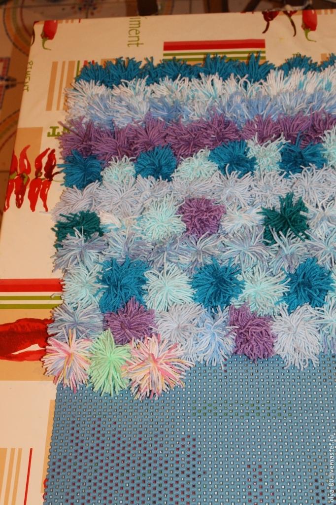 Процесс создания веселого коврика, фото № 15