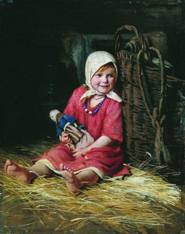 стихи о кукле