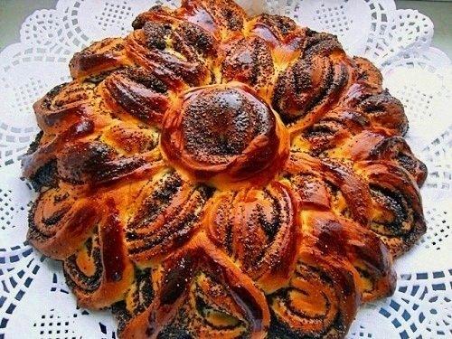 пирог рулет с маком рецепт с фото