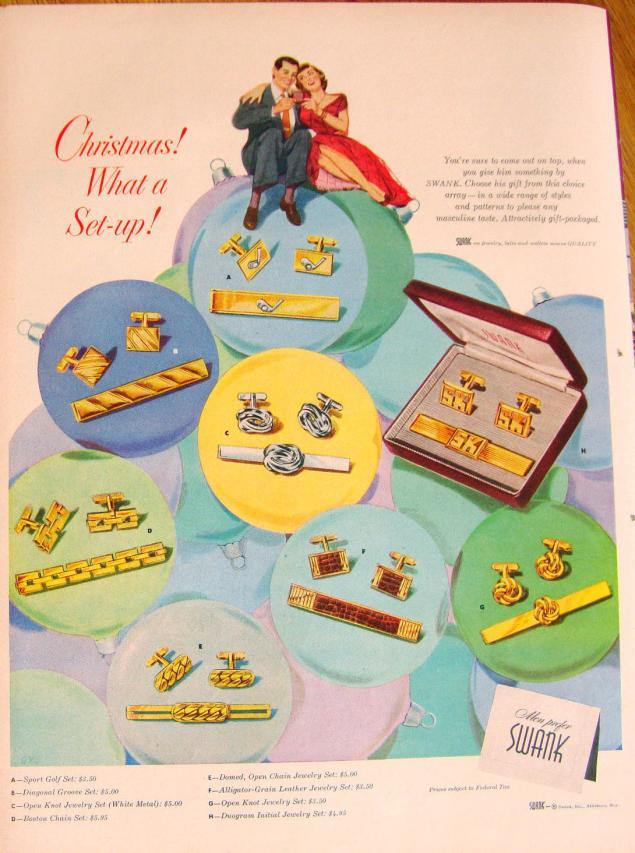 Новогодняя реклама Vintage/1951 -1956 включительно, фото № 7