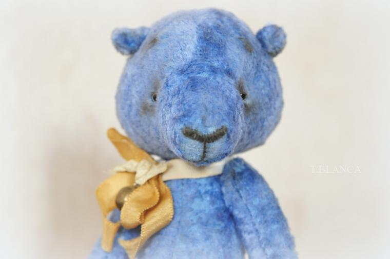 медведь, портрет