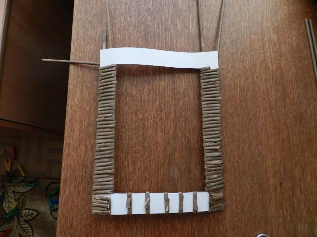 имя плетение из газетных трубочек фоторамок содержит органические элементы