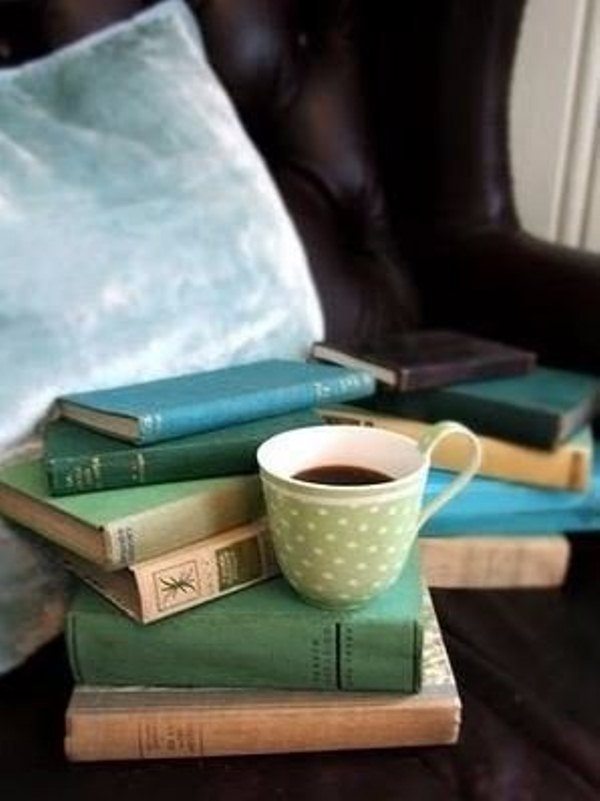 Кофе плед книга осень