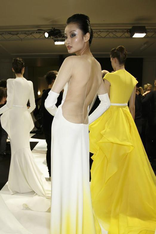Stephane Rolland Haute Couture весна-лето 2014, фото № 44